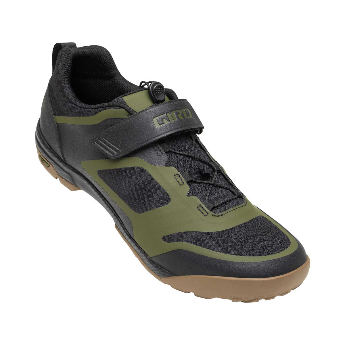Giro Ventana Fastlance Shoe in Black and Olive main view